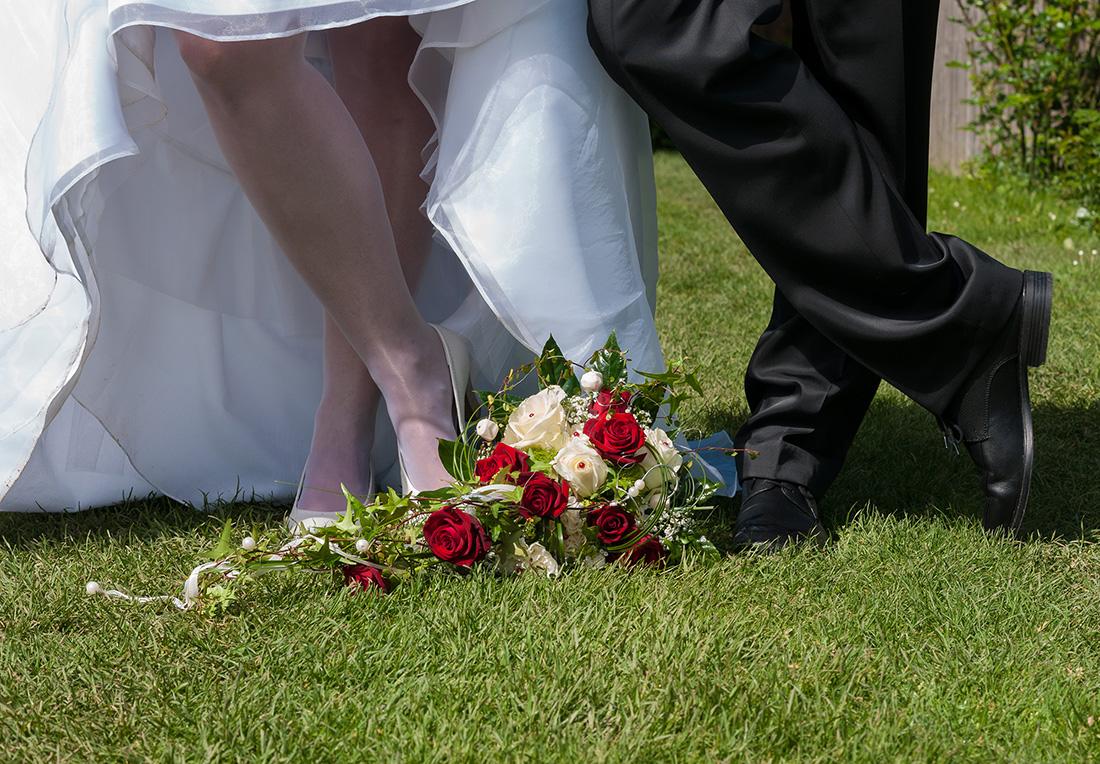 Hochzeitsfotos mit Pfiff
